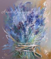Весна в цвете Lavender