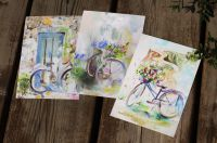 Набор открыток Велосипеды