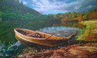 Осенняя лодочка