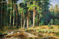 Копия картины Ивана Шишкина