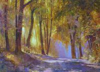 Осень в Кузьминском парке.