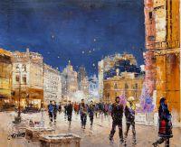 Прогулки по ночной Москве N2