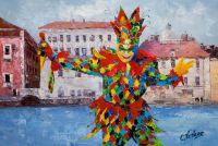 Венеция. Маски венецианского карнавала N1