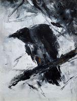 Старая ворона