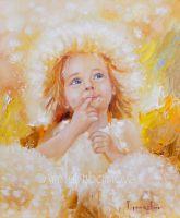 Принт Солнечный Angel