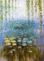 Водяные лилии, N5, копия картины Клода Моне