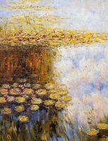 Водяные лилии N6, копия картины Клода Моне