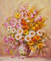Букет летних цветов