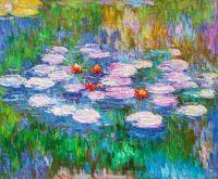 Водяные лилии N12, копия С.Камского картины Клода Моне