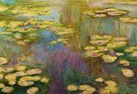 Водяные лилии N14, копия С.Камского картины Клода Моне