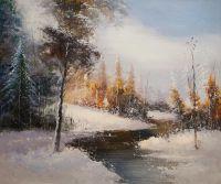 Зимним днем в лесу