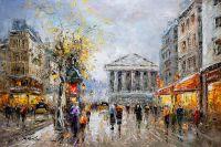 Paris, Rue Tronchet (копия Кристины Виверс)