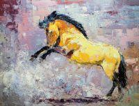Конь, вставший на дыбы