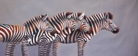 Зебры. Монохром N2