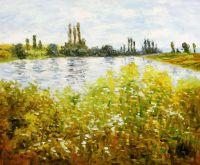 Остров цветов на Сене около Ветейа