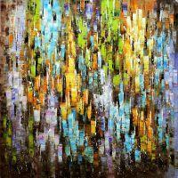 Абстракция. Осенние отражения
