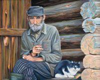Портрет с котом