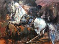 Конь. Встав на дыбы