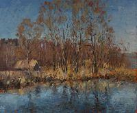 Деревенский пруд