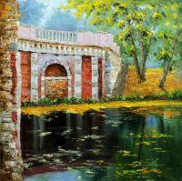 Есть в старом парке черный пруд (В Лефортово)