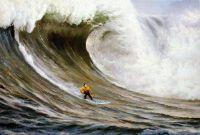 Морской пейзаж «Серфинг. Покоряя волны»