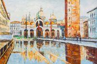 Венецианский пейзаж маслом