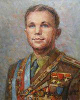 Юрий Гагарин - первый космонавт