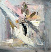 Абстракция с цветком