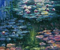 Водяные лилии, N16, копия С.Камского картины Клода Моне