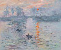 Впечатление. Восход солнца, 1872,копия С.Камского картины Клода Моне
