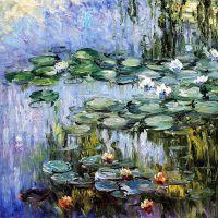 Водяные лилии, N17, копия С.Камского картины Клода Моне