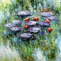 Водяные лилии, N18, копия С.Камского картины Клода Моне