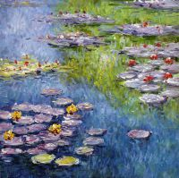 Водяные лилии, N19, копия С.Камского картины Клода Моне