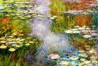 Водяные лилии, N20, копия С.Камского картины Клода Моне