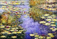 Водяные лилии, N21, копия С.Камского картины Клода Моне