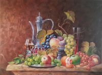 Кувшин с фруктами