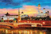 Вид на Кремль через Москва-реку