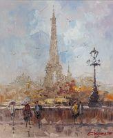 Париж. Прогулка к Эйфелевой башне N1