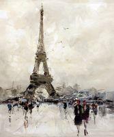 Париж. Прогулка к Эйфелевой башне N2