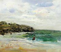 Прогулка на морском берегу
