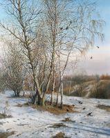 Ранняя весна в Коломенском