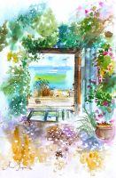 Бирюзовый сад