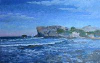 Кипр-север, Каялар, дикий пляж