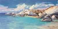 Кипр, белые камни