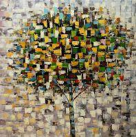 Дерево. Осень. Основной не зеленый. N1