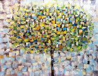 Дерево. Осень. Основной не зеленый.N2