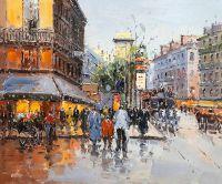 Сны о Париже N1 (по мотивам картин Бланшара и Кортеса)
