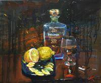 Коньяк и лимоны