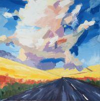 """""""cloud over a honey field melilotos""""""""облако над медовым полем донника"""""""