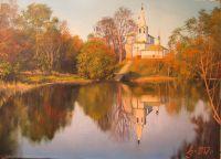 г,Суздаль,церковь Козьмы и Демьяна